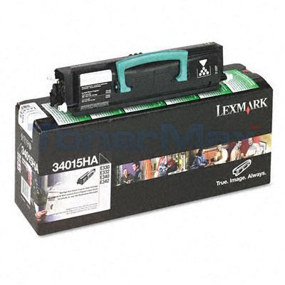 LEXMARK E330 TONER CARTRIDGE BLACK RP 6K